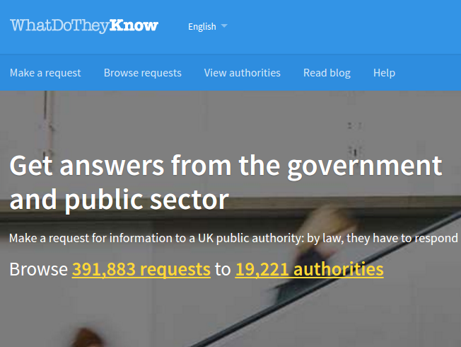 Get answers from the government and public sector